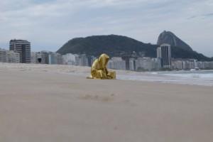 trio biennial  sculpture 3d copacabana rio de janeiro guardians of time sculpture art arts design manfred kili kielnhofer